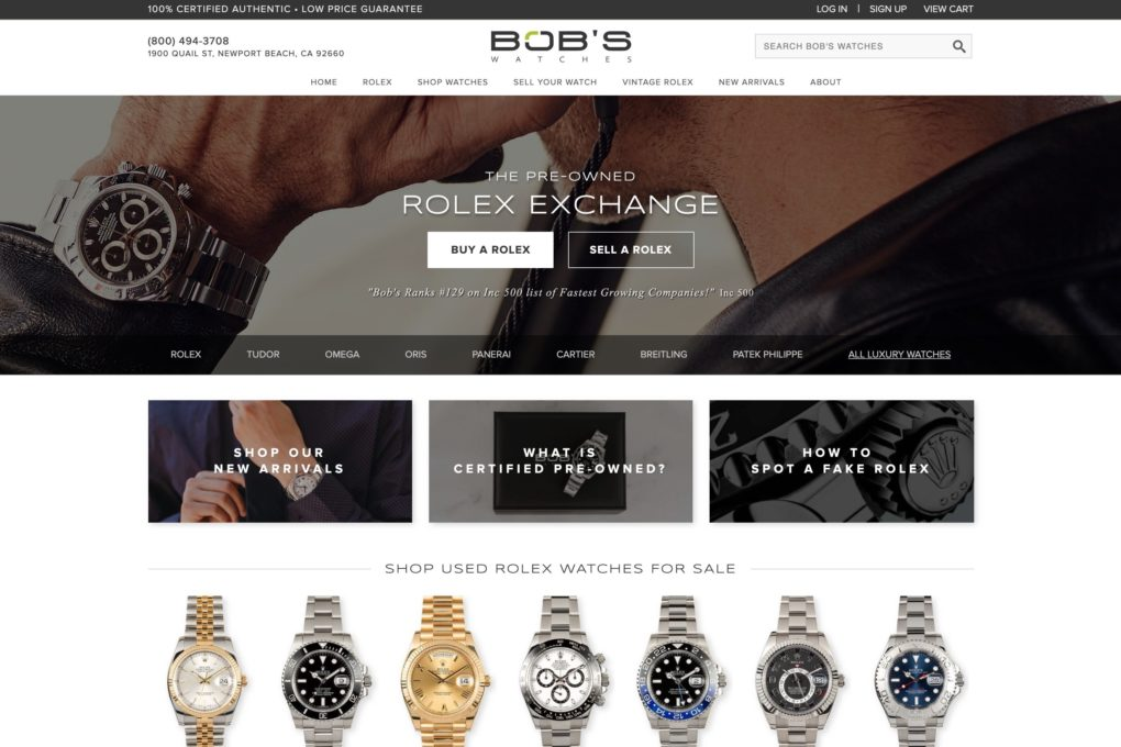 Bobs Watches Buy Watches Online