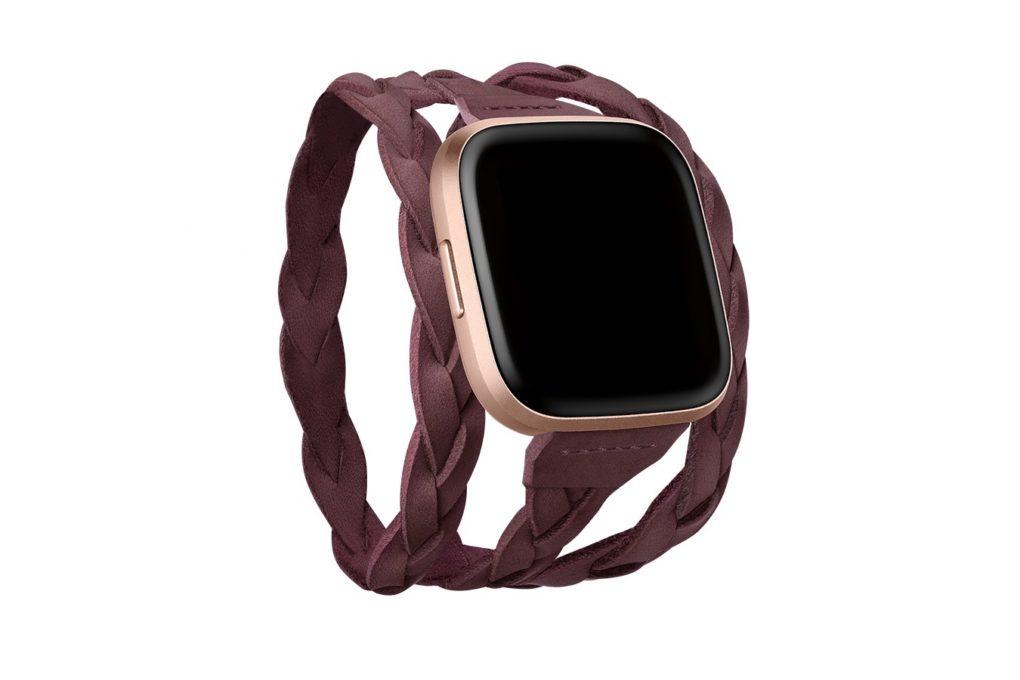 Fitbit Horween Suede Wrap Bracelet | Best Watch Accessories