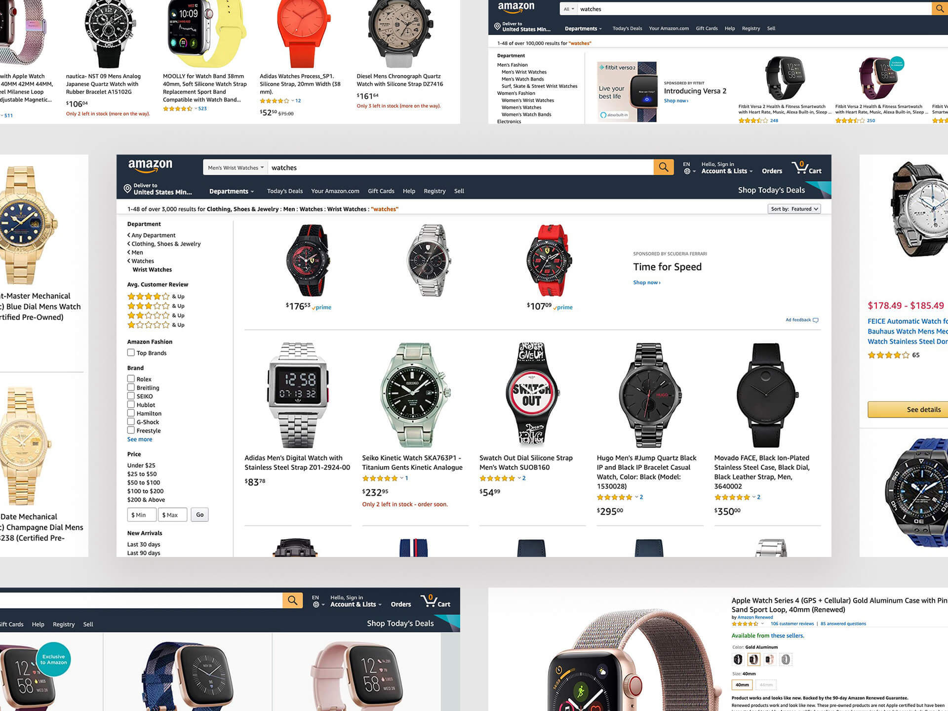 Amazon | Holiday Deals on Watches