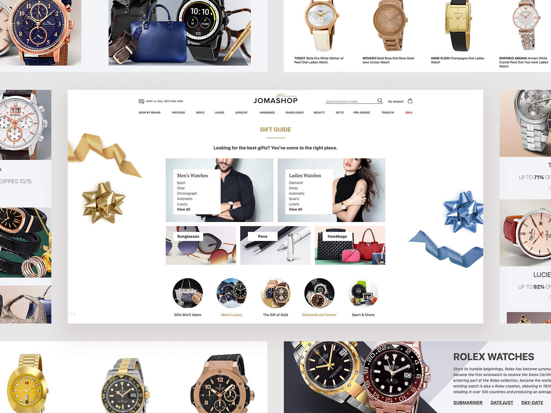 Jomashop | Holiday Deals on Watches