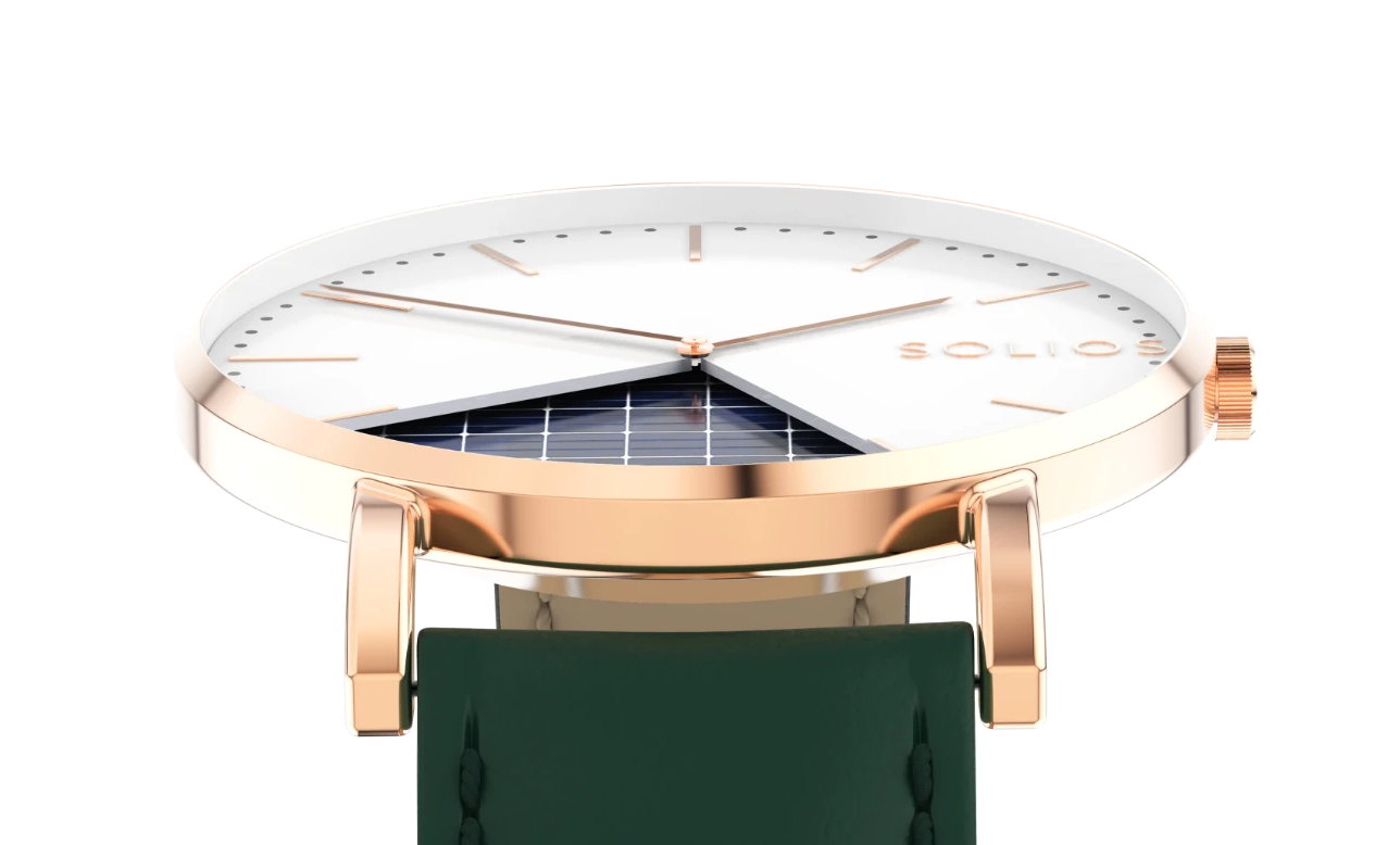 Solar Powered Solios Watches